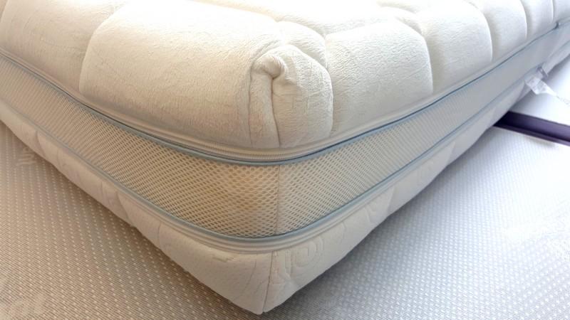 matelas m moire de forme d houssable multiconfort effet climatisant. Black Bedroom Furniture Sets. Home Design Ideas